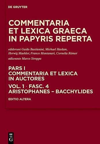 Aristophanes - Bacchylides (Hardback)