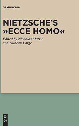 9783110246544: Nietzsche's Ecce Homo (Nietzsche Today)