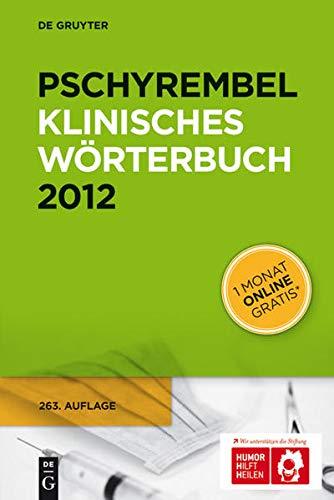 9783110251661: 263: Pschyrembel Klinisches Wörterbuch