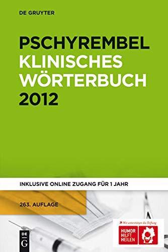 9783110251692: Pschyrembel Klinisches Wörterbuch. Kombi Print und Online