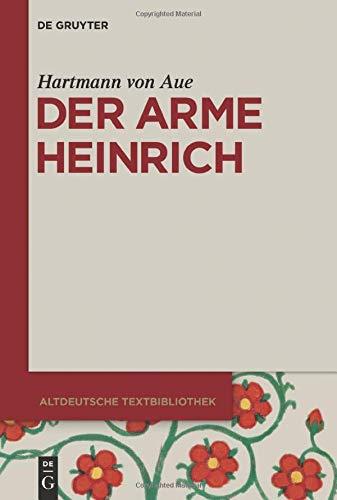9783110254266: Der arme Heinrich (Altdeutsche Textbibliothek)
