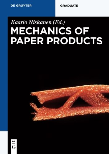 9783110254617: Mechanics of Paper Products (De Gruyter Textbook)