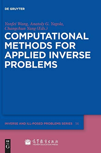 9783110259049: Computational Methods for Applied Inverse Problems (Inverse and Ill-Posed Problems)