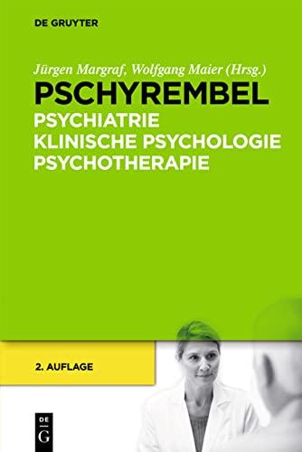 9783110262582: Pschyrembel Psychiatrie, Klinische Psychologie, Psychotherapie