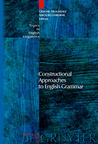 9783110262698: Constructional Approaches to English Grammar