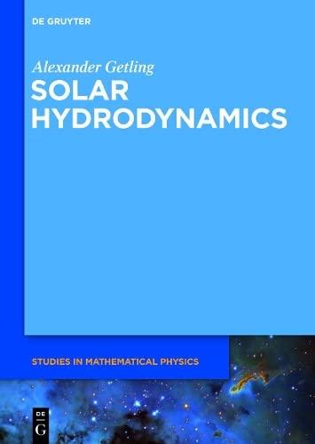 9783110266665: Solar Hydrodynamics