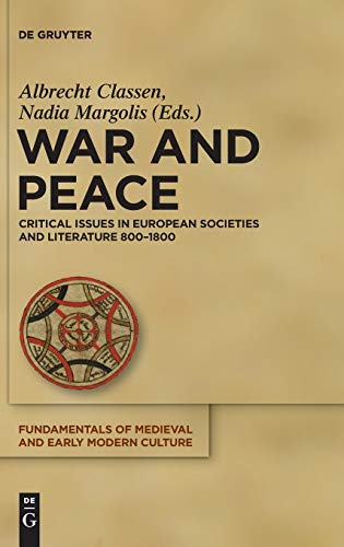 9783110268072: War and Peace (Fundamentals of Medieval and Early Modern Culture)