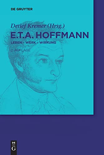 9783110268317: E.T.A. Hoffmann (de Gruyter Lexikon) (German Edition)