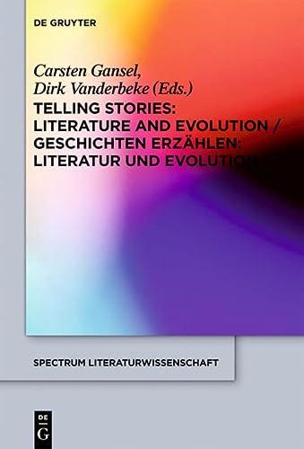 TELLING STORIES SL 26 (Spectrum Literaturwissenschaft/Spectrum Literature/...