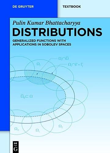 9783110269277: Distributions (De Gruyter Textbook)