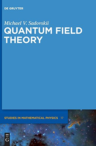 9783110270297: Quantum Field Theory (De Gruyter Studies in Mathematical Physics)