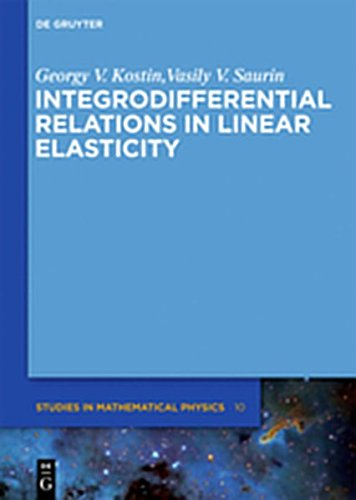 9783110271010: Integrodifferential Relations in Linear Elasticity (De Gruyter Studies in Mathematical Physics)