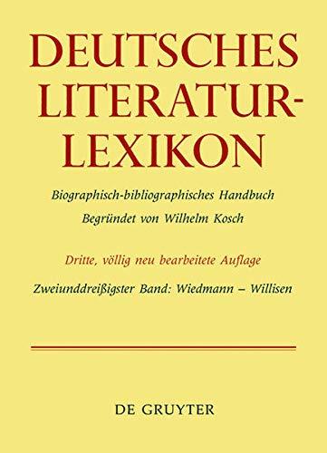 Deutsches Literatur-Lexikon Bd. 32