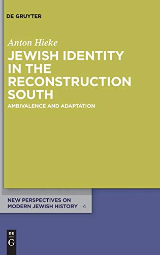 9783110277692: Jewish Identity in the Reconstruction South (New Perspectives on Modern Jewish History)