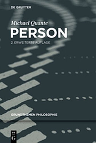 9783110279573: Person (Grundthemen Philosophie)