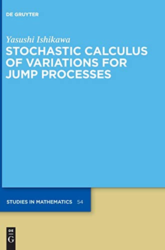 9783110281804: Stochastic Calculus of Variations for Jump Processes (De Gruyter Studies in Mathematics)