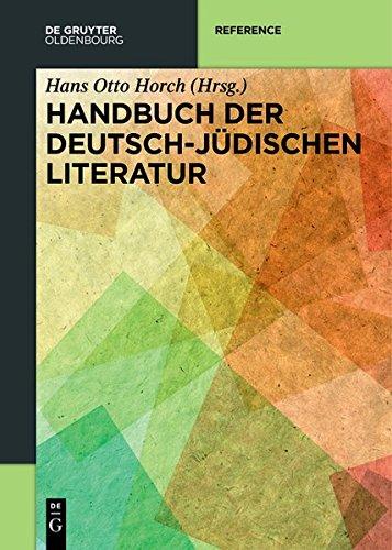 9783110282573: Handbuch Der Deutsch-Judischen Literatur