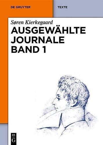 9783110282740: Ausgew�hlte Journale Band 1 (De Gruyter Texte)
