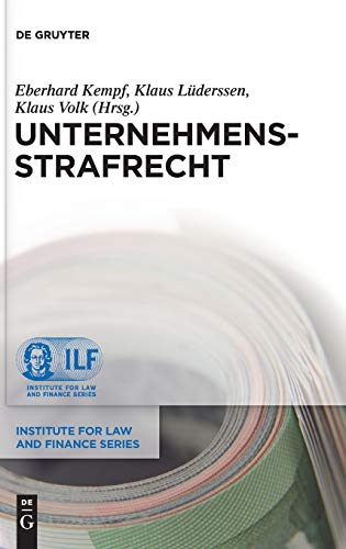 9783110283167: Unternehmensstrafrecht (Institute for Law and Finance)