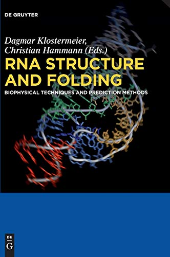 9783110284591: RNA Structure and Folding