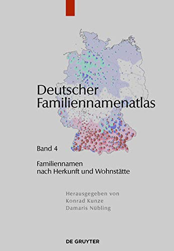 9783110290592: Familiennamen Nach Herkunft Und Wohnstatte