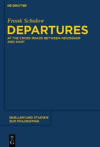 9783110291391: Departures: At the Crossroads Between Heidegger and Kant (Quellen und Studien zur Philosophie)