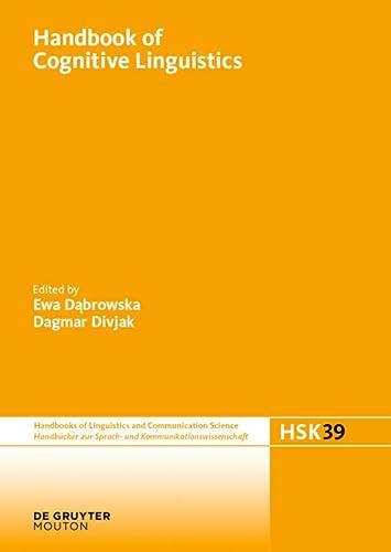 Handbook of Cognitive Linguistics: Ewa Dabrowska