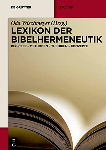 9783110292749: Lexikon der Bibelhermeneutik (de Gruyter Studium) (German Edition)