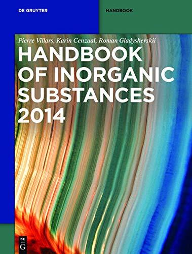 9783110294453: Handbook of Inorganic Substances (De Gruyter Reference)