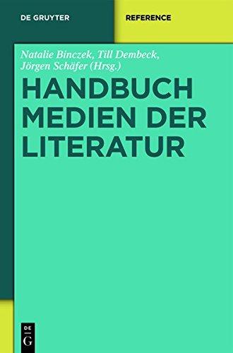 9783110295627: Handbuch Medien Der Literatur