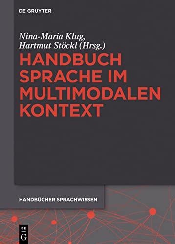Handbuch Sprache Im Multimodalen Kontext (Hardback)