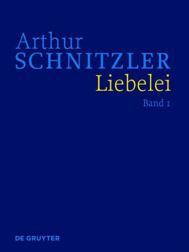 9783110301748: Liebelei: Historisch-kritische Ausgabe