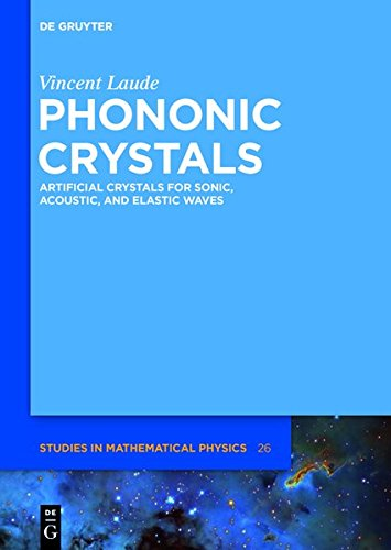 9783110302677: Phononic Crystals: Artificial Crystals for Sonic, Acoustic, and Elastic Waves (De Gruyter Studies in Mathematical Physics)