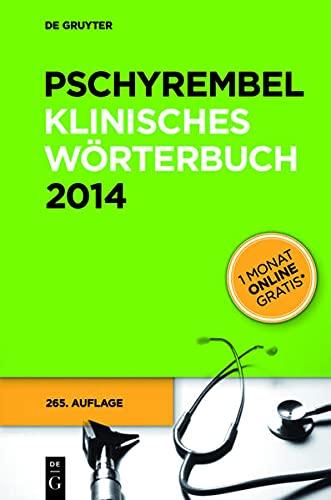 9783110305098: Pschyrembel Klinisches Worterbuch (German Edition)