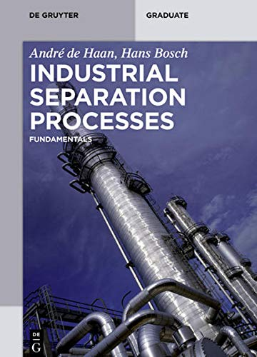 9783110306699: Industrial Separation Processes (de Gruyter Textbook)