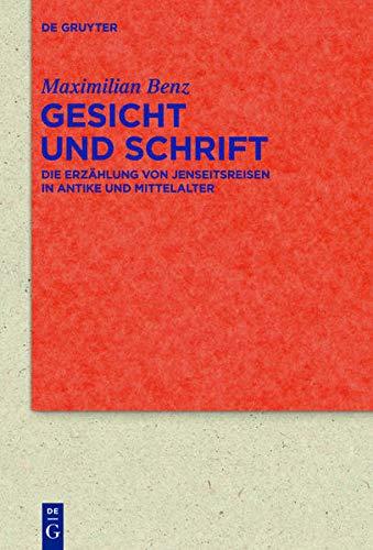 9783110309324: Gesicht und Schrift (Quellen Und Forschungen Zur Literatur- Und Kulturgeschichte) (German Edition)