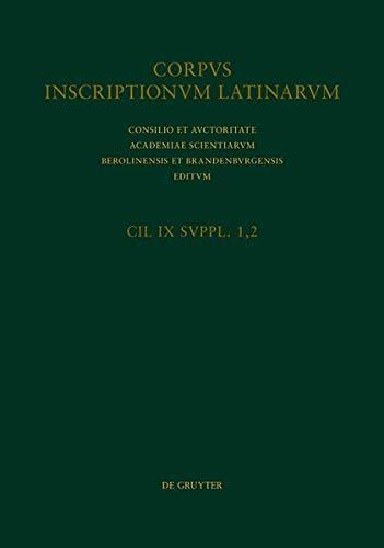 Corpus inscriptionum Latinarum. Inscriptiones Hispaniae Latinae [Editio: Geza Alföldy