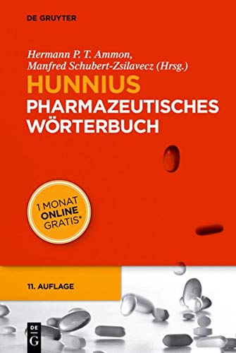 9783110309904: Hunnius Pharmazeutisches Wörterbuch