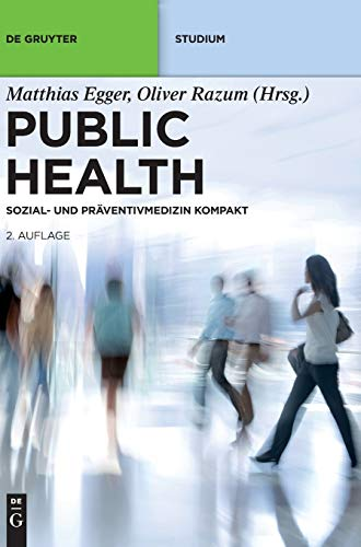 9783110310733: Public Health (De Gruyter Studium) (German Edition)
