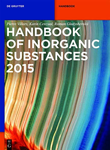 9783110311136: Handbook of Inorganic Substances (De Gruyter Reference)