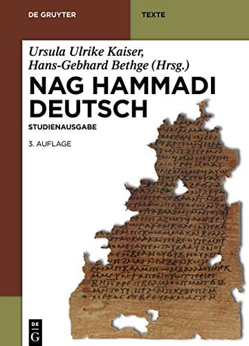 Nag Hammadi Deutsch: Hans-Gebhard Bethge