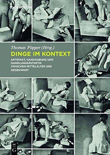 9783110315950: Dinge Im Kontext (German Edition)