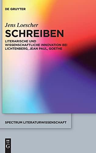 Schreiben: Jens Loescher