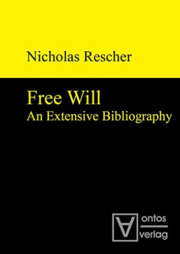 9783110319545: Free Will: An Extensive Bibliography