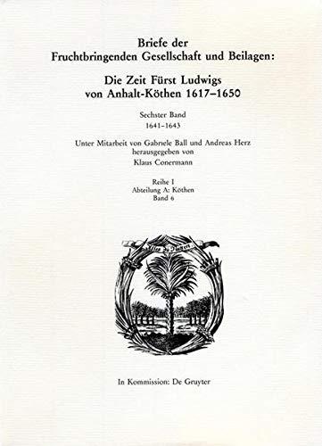 1641-1643 (German Edition): Walter de Gruyter