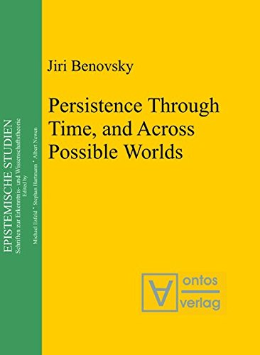 9783110323252: Persistence Through Time, and Across Possible Worlds (Epistemische Studien / Epistemic Studies)