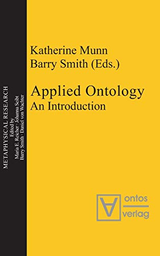 9783110324501: Applied Ontology: An Introduction (Metaphysical Research)