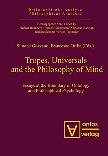 9783110327120: Tropes, Universals and the Philosophy of Mind (Philosophische Analyse / Philosophical Analysis)