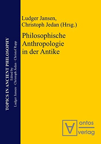 9783110329261: Philosophische Anthropologie in Der Antike