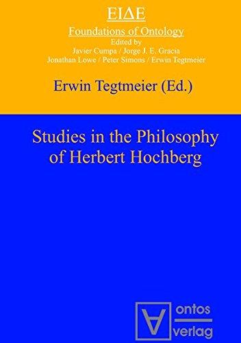 9783110330564: Studies in the philosophy of Herbert Hochberg